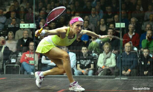 """I'd take my job any day instead of an office job,"" says Northern Ireland squash player Madeline Perry"