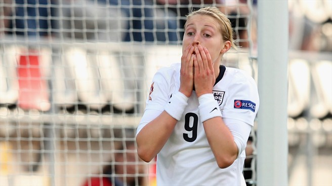 England forward Ellen White is yet to play a competitive game for new club Notts County after rupturing the cruciate ligament in her knee (c) UEFA website