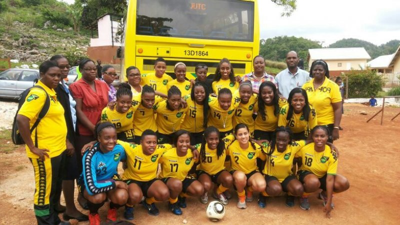 Could Jamaica be the first Caribbean nation to qualify for a Women's Football World Cup (c) Jamaican Football Federation website