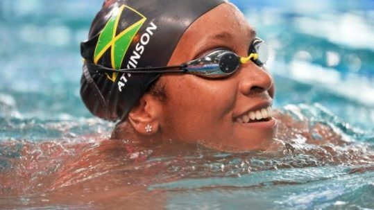 Jamaican swimmer Alia Atkinson